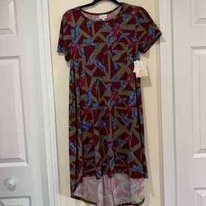 NWT XS flowy Carly dress by LuLaRoe